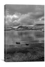 Derwent Water View, Canvas Print