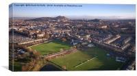 Edinburgh's New Town, Canvas Print