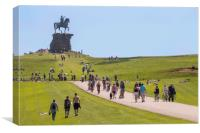 The Copper Horse, Windsor Great Park, Canvas Print