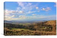 Barrow Wake Viewpoint, Gloucestershire, Canvas Print