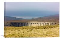 Ribblehead Viaduct, North Yorkshire, Canvas Print