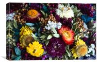 Colorful Flowers, Canvas Print