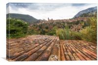 Valldemossa village, Majorca, Canvas Print