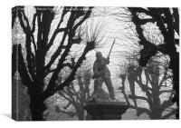 War Memorial, Canvas Print