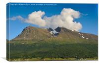 Norwegian Mountain , Canvas Print