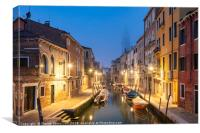 Mist in Venice, Canvas Print