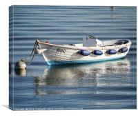 Workboat, Canvas Print