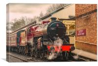All Aboard, Canvas Print