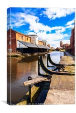 Wigan Pier and Trencherfield Mill, Canvas Print