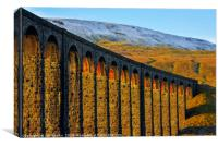 Ribblehead Viaduct and Whernside, Canvas Print
