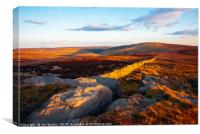 Whins Brow from Millers House, Canvas Print