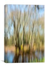 The Tree Rush, Canvas Print