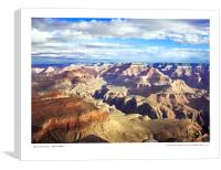 Grand Canyon - South Rim , Canvas Print