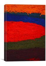 Turkish rug wool, Canvas Print