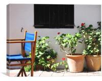 Sunny Menorca, Canvas Print