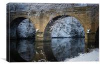 Prebends Bridge Winter Reflection