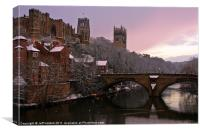 Durham Castle and Cathedral, Canvas Print