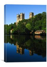 Durham Cathedral Reflection, Canvas Print
