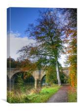 Prebends Bridge in Autumn