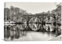 Prebends Bridge, Canvas Print