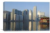 Docklands Skyline, Canvas Print