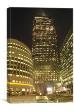 One Canada Square, Canvas Print