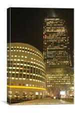 Canary Wharf Tower, Canvas Print