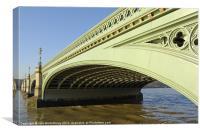 Westminster Bridge, Canvas Print