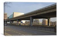 Highway Overpass, Canvas Print