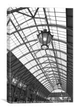 Covent Garden Roof, Canvas Print