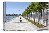 Glasgow Waterfront, Canvas Print