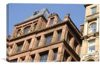 Sandstone Offices, Canvas Print