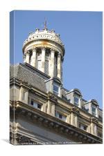 Glasgow Royal Exchange, Canvas Print