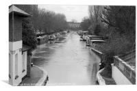 Grand Union Canal, Canvas Print