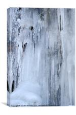 Ice Formation, Canvas Print