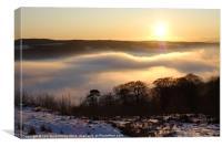 Sunset Mist, Canvas Print