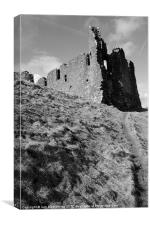 Morton Castle, Canvas Print