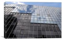 Modern Office Building, Canvas Print