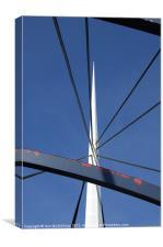 Bells Bridge, Canvas Print