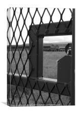 Metal Gate, Canvas Print