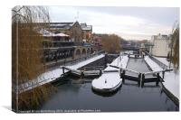 Camden Lock, Canvas Print