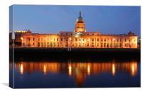 Dublin Custom House, Canvas Print