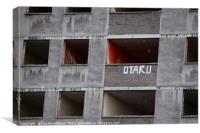 Derelict Building, Canvas Print