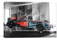 McLaren Formula One Car, Canvas Print