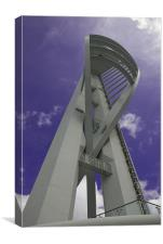 The Spinnaker Tower at Portsmouth Harbour, Canvas Print