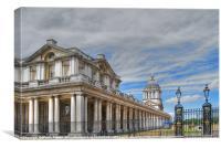 University of Greenwich, Canvas Print