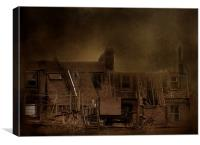 Dereliction, Canvas Print
