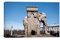 Elephant of the Bastille, Canvas Print