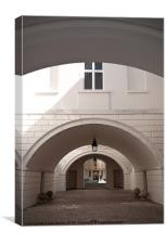 Archways, Canvas Print