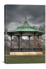 Greenwich Park Bandstand, Canvas Print